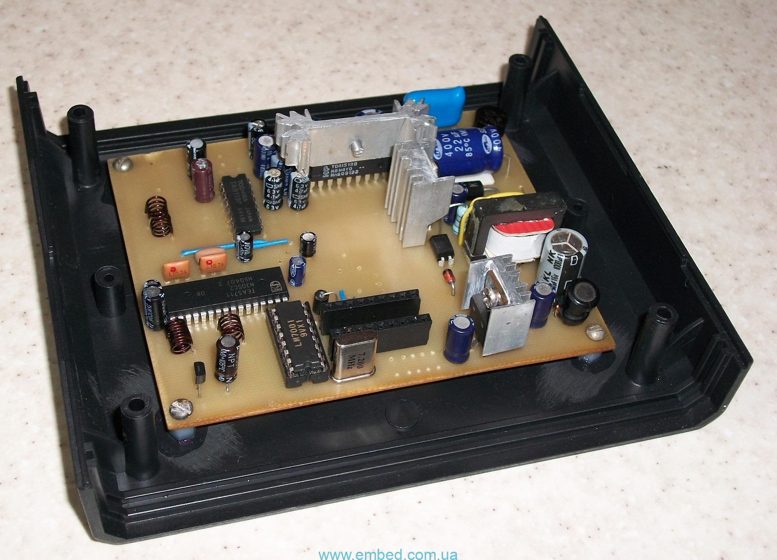 схема хорошего фм радиоприемника на микросхеме